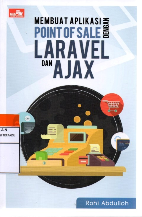 Membuat aplikasi point of sale dengan laravel dan ajax