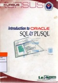 Introduction to oracle sql dan pl/sql